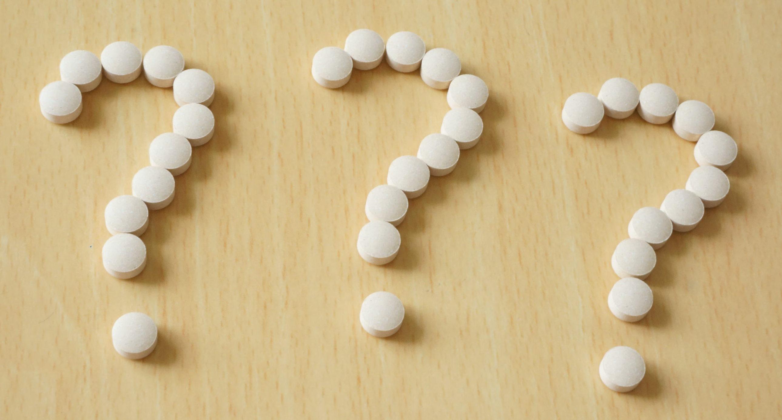 肌荒れ対策のサプリメントに関する質問